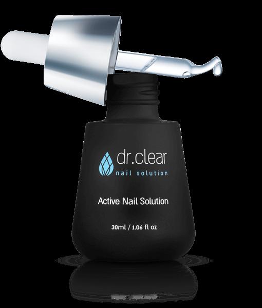 DR Clear - נוזל אקטיבי לטיפול בפטרת ציפורניים